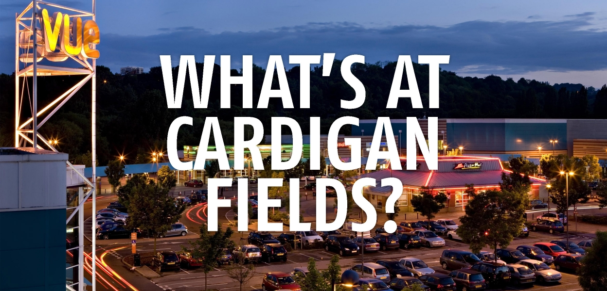 What's at Cardigan Fields Homepage